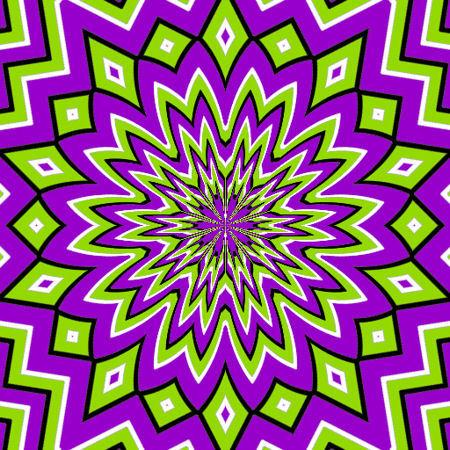 sea-sickness-purple-green-optical-illusions