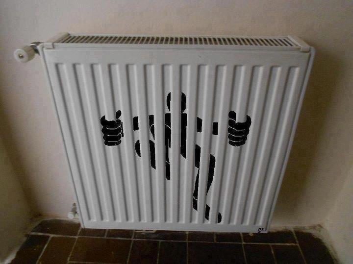radiator grating
