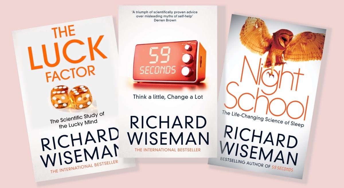 59 Seconds Richard Wiseman books – richard wiseman